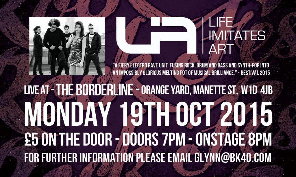LiA London Borderline Flyer